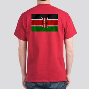 Flag of Kenya Dark T-Shirt